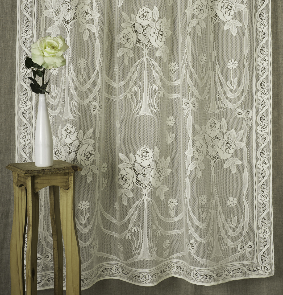 Best Sheer Fabric For Curtains Arbor Rose Nottingham Lace Curtain Direct From London Lace